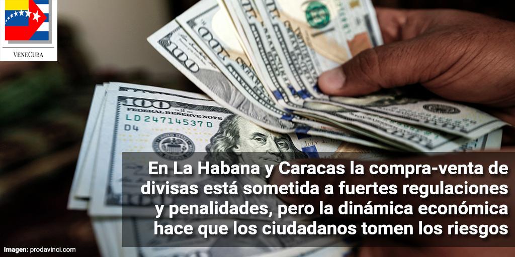 En Cuba y Venezuela todos sonríen al dólar