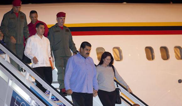 Maduro viajó a Cuba para asistir a cumbre con aliados