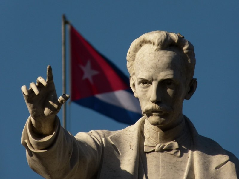 Los viajes de José Martí y Fidel Castro a Venezuela