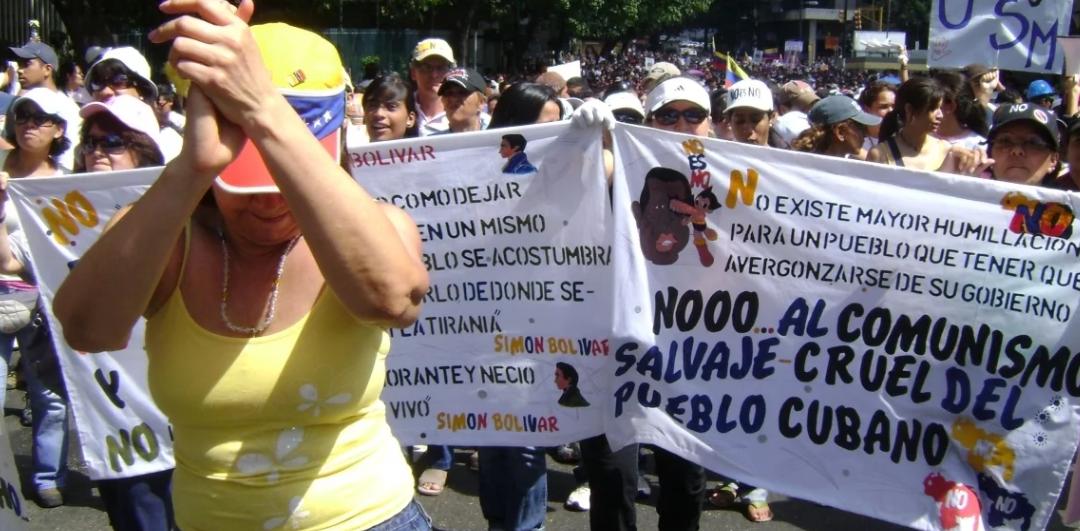 Intelectuales y artistas cubanos exigen la salida de los cubanos de Venezuela