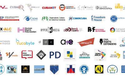 Casi 50 organizaciones de derechos humanos y medios independientes repudian la aplicación del Decreto-Ley 370 en Cuba